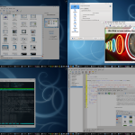 Virtuelle Desktop Linux KDE