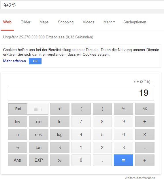 Googlerechner